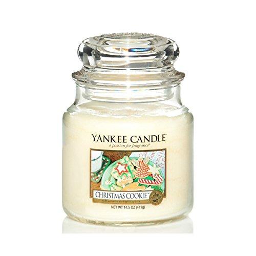 Bougie Yankee Candle parfum Biscuit de Noël