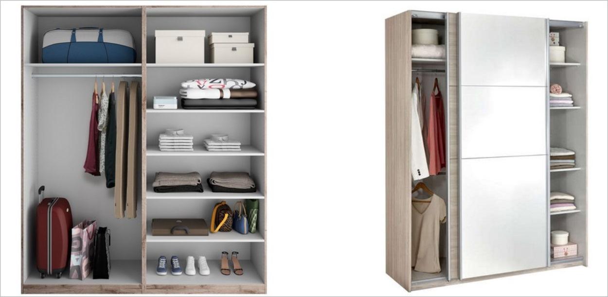 Deux modèles d'armoires