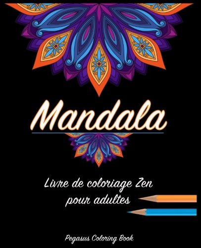 Coloriage Adulte Mandala