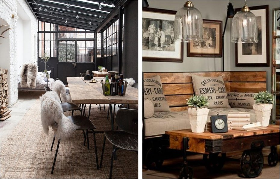 Decoration industrielle meilleures images d 39 inspiration for Decoration maison industrielle