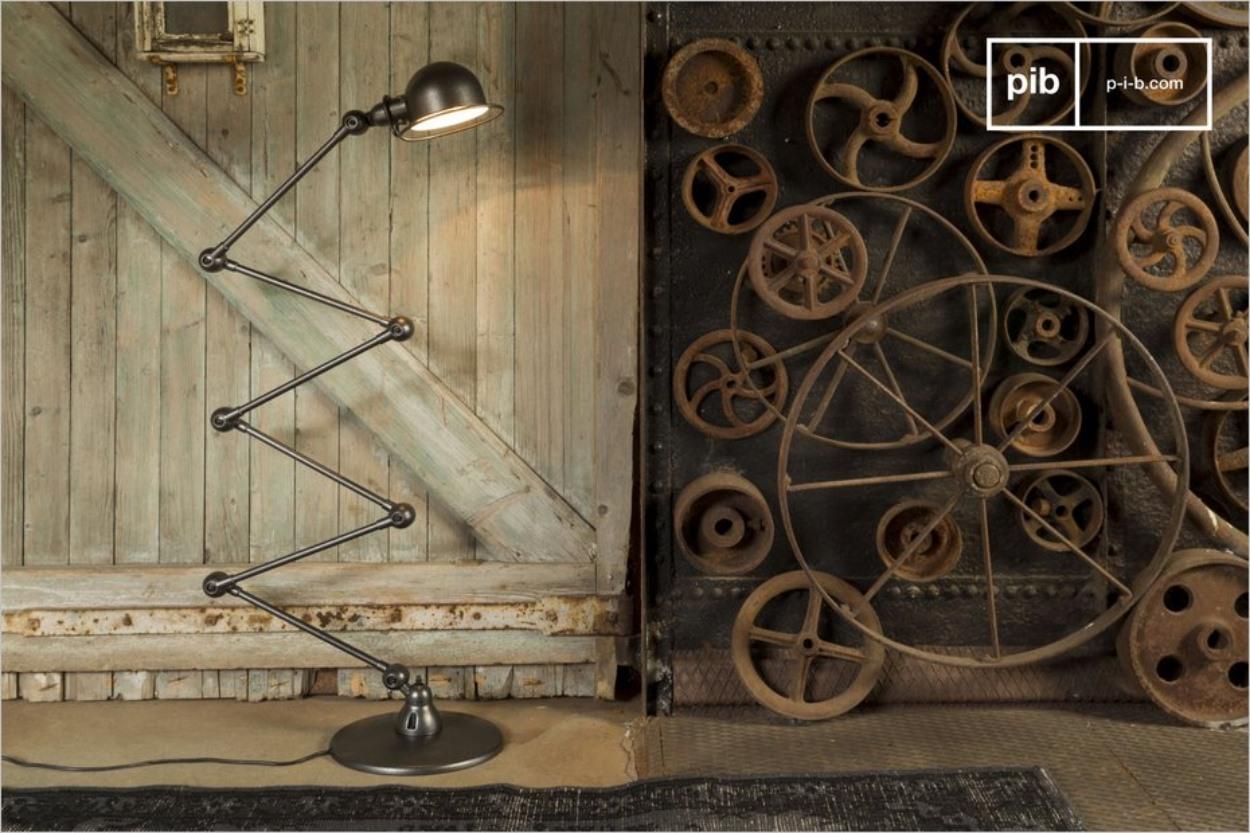 Le lampadaire articulé Jieldé