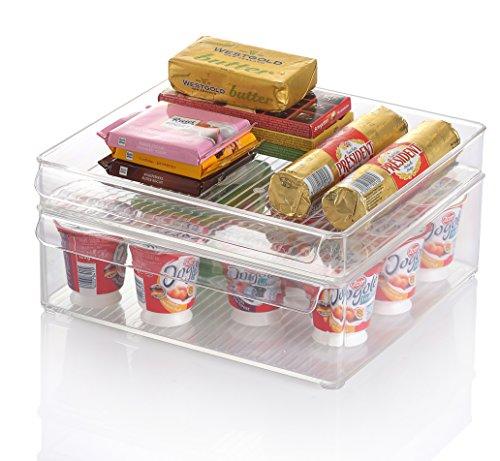Boîtes de rangement pour frigo Kuuk – Empilables et sans BPA