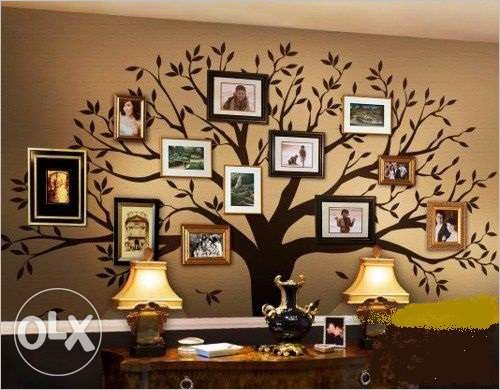 Peindre un arbre sur le mur