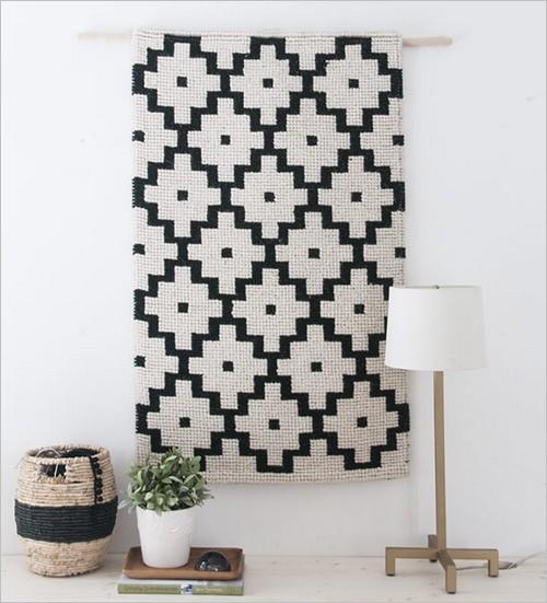 Le tapis mural, une très bonne idée