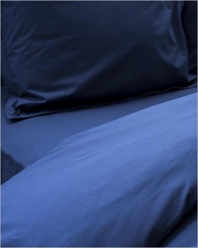Parure de lit Greige en percale de coton